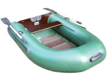Плоскодонная лодка из ПВХ