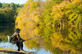 Природа и рыбалка на свежем воздухе